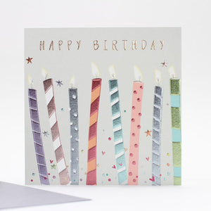 'Birthday Candles' Card by Belly Button