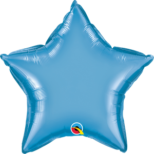 Pale Blue Foil Star Balloon