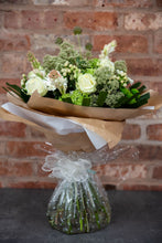 Load image into Gallery viewer, white avalanche rose, viburnum, tuberose