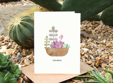 Load image into Gallery viewer, Succulent Birthday Card