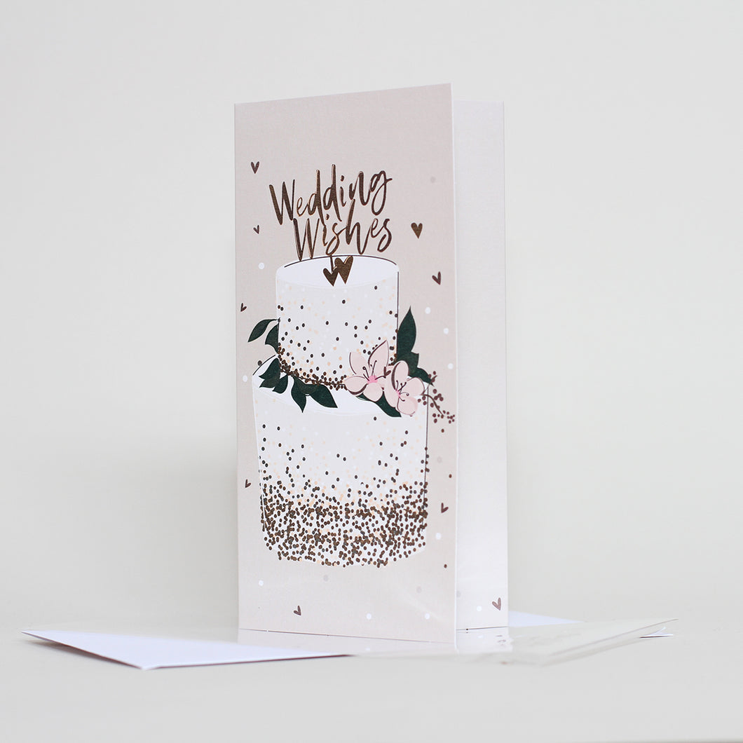 'Wedding Wishes' Card by Belly Button