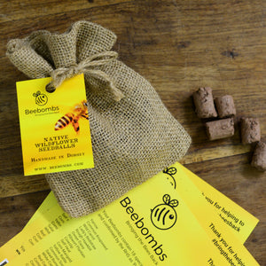 Beebombs wildflower seeds