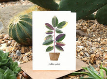 Load image into Gallery viewer, Rubber Plant Birthday Card