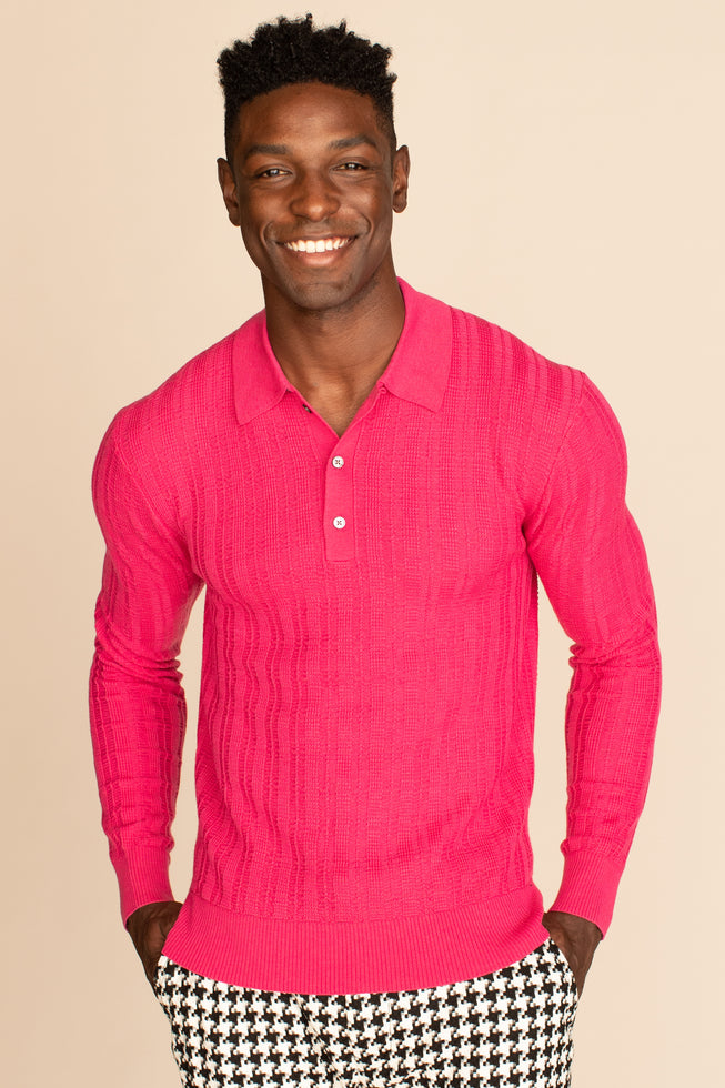 JULES LONG SLEEVE POLO