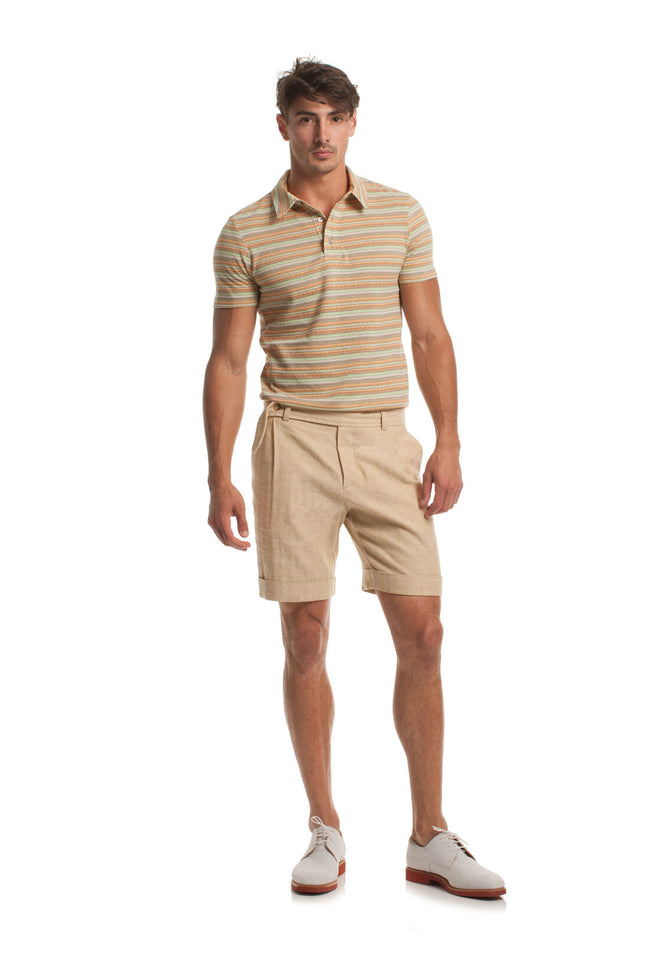 OLIVER PLEATED SHORT