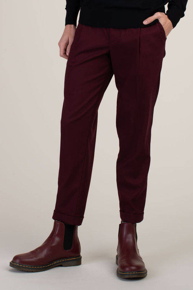 BEALE PLEATED TROUSER