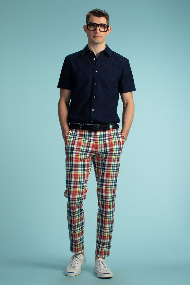 CLYDE SILM TROUSER