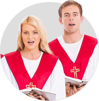 Lightweight Choir Robes - School Church Choir Robes