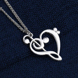 Music Note Pendant & Necklace - Church Choirs
