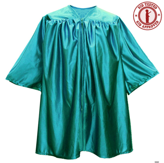 Child's Emerald Green Choir Robe - Church Choirs