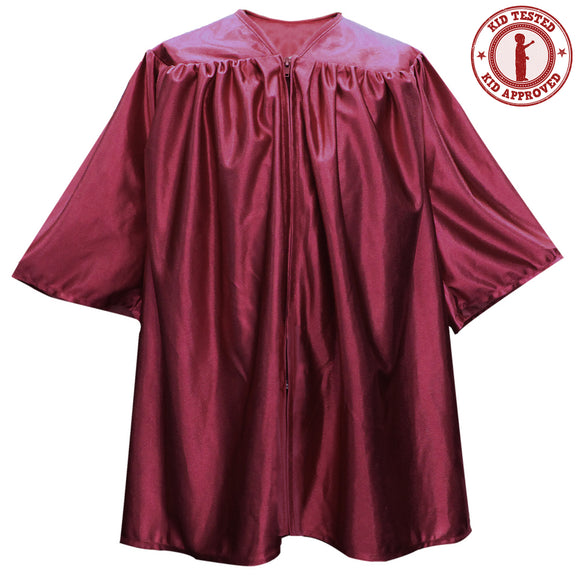 Child's Maroon Choir Robe - Church Choirs