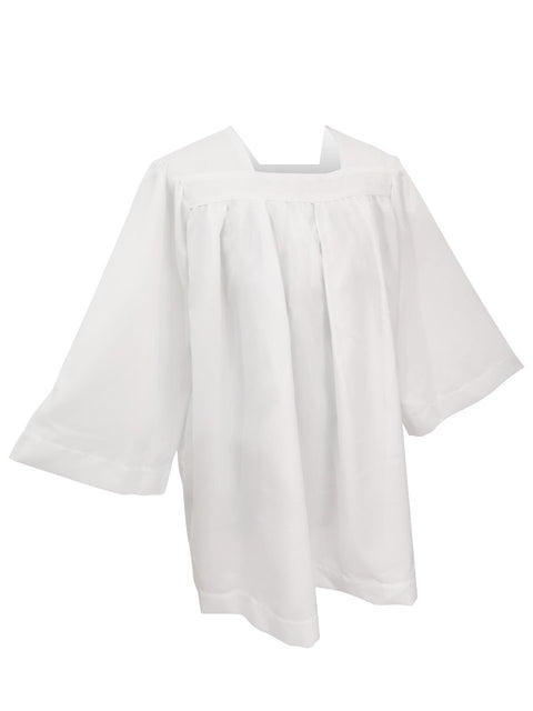 Classic Square Neckline Choir Surplice - Church Choirs