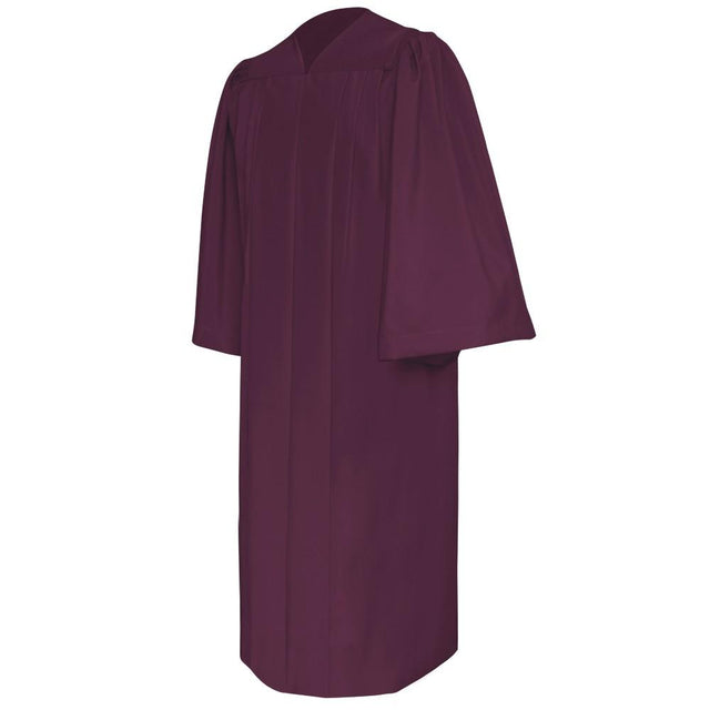 Deluxe Maroon Choir Robe - Church Choirs