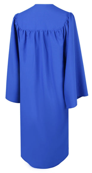 Matte Royal Blue Choir Robe - Church Choirs