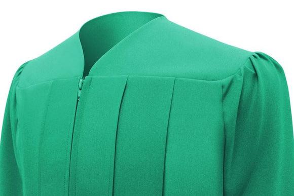 Matte Emerald Green Choir Robe - Church Choirs