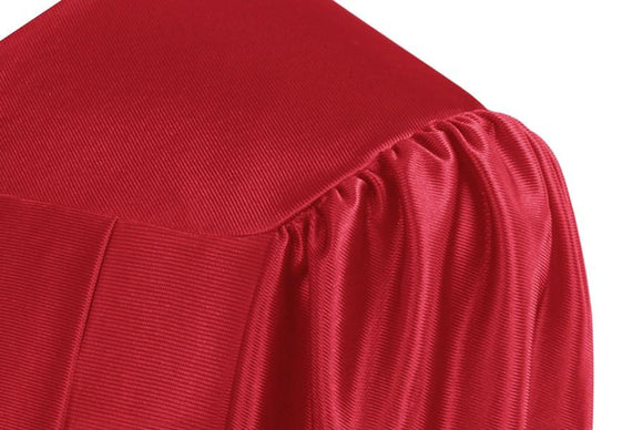 Shiny Red Choir Robe - Church Choirs