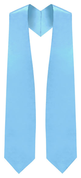Light Blue Traditional Choir Stole - Church Choirs