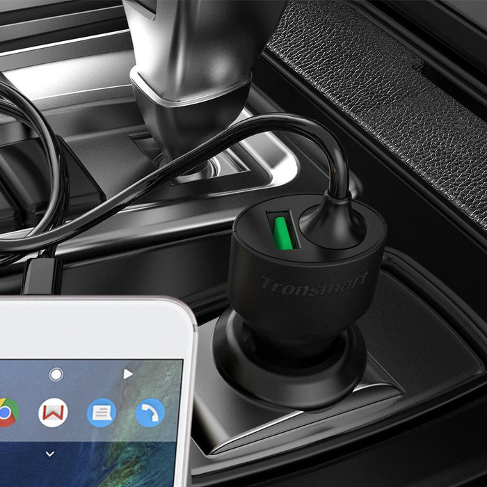 Tronsmart Fast charge USB-C Car Charger - wirelessphones