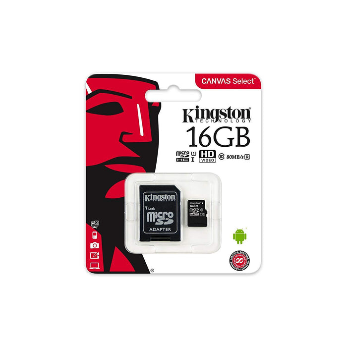 Kingston SD Card 64GB (SD Adapter Included) - wirelessphones