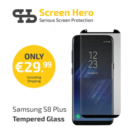 Screen Hero Samsung Galaxy S8 Plus Black