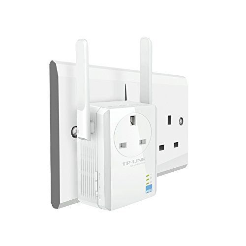 TP-Link 300Mbps WiFi Range Extender with AC Passthrough - wirelessphones
