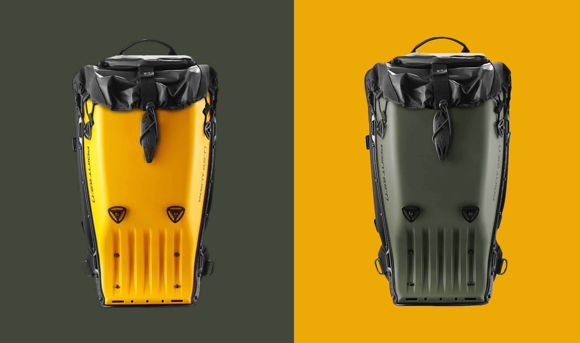 NEW BACKPACK COLOURS - WASP & ARMY GREEN