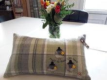 Load image into Gallery viewer, Personalised Welsh Collection Cushion STYLE 5 - Rectangle with Sheep