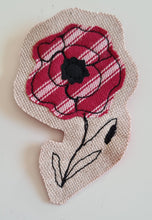 Load image into Gallery viewer, Poppy Brooch