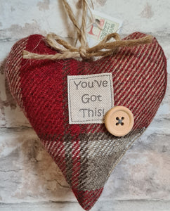 """You've Got This!"" Signature Collection Heart"