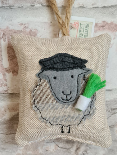 Welsh Collection Sheep with Flat Cap