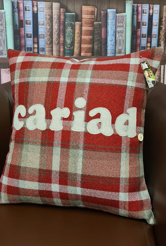 NEW SQUARE Shape Cushion with ANY Wording - Signature Collection