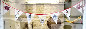 Limited Edition Super Size Welsh Bunting