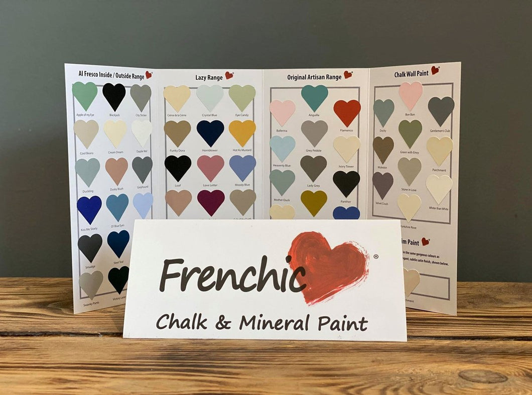Frenchic Colour Chart