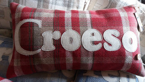 Signature Collection Croeso Cushion - 5 Colours to choose from