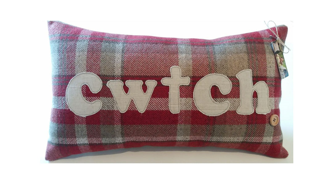 Signature Collection Cushion - 5 Colours in Your Choice of Wording