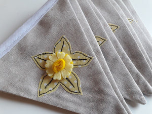 Welsh Collection Daffodil Bunting