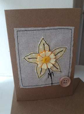 Welsh Collection Daffodil Greetings Card
