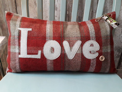 Love Cushion - 5 Colours to choose from