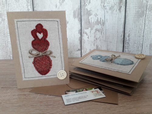 Welsh Collection Love Spoon Greetings Card