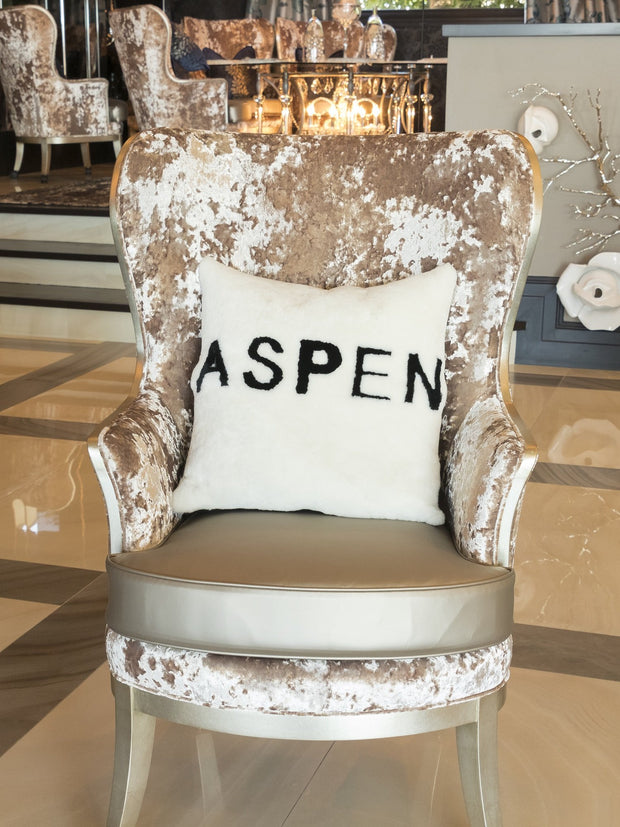Aspen Hand-Crafted Pillow