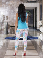 Pastel Roses Leggings