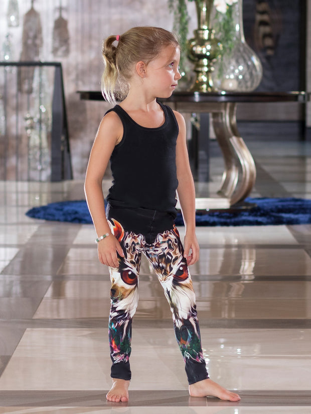 Kids King Owl Leggings