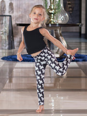 Kids Westie White Terrier Leggings