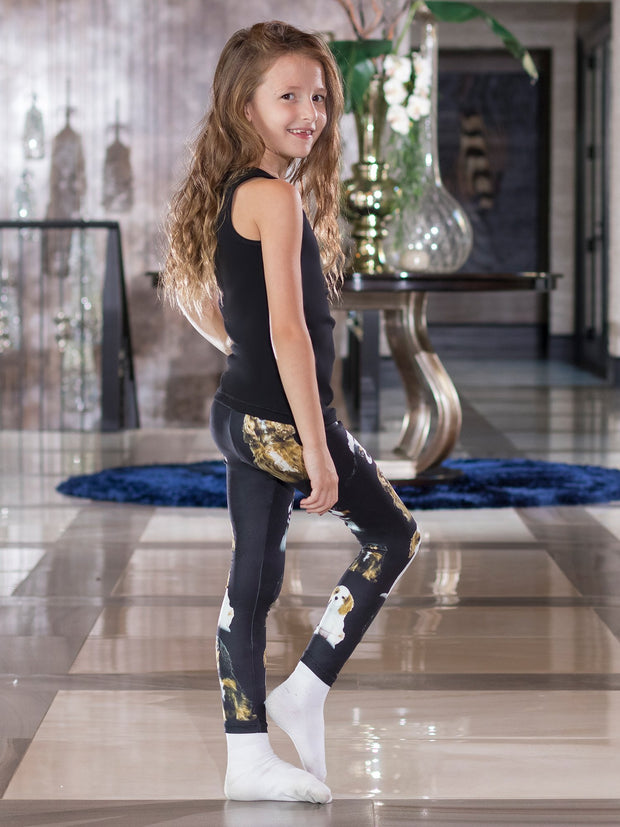 Kids King Charles Spaniel Leggings
