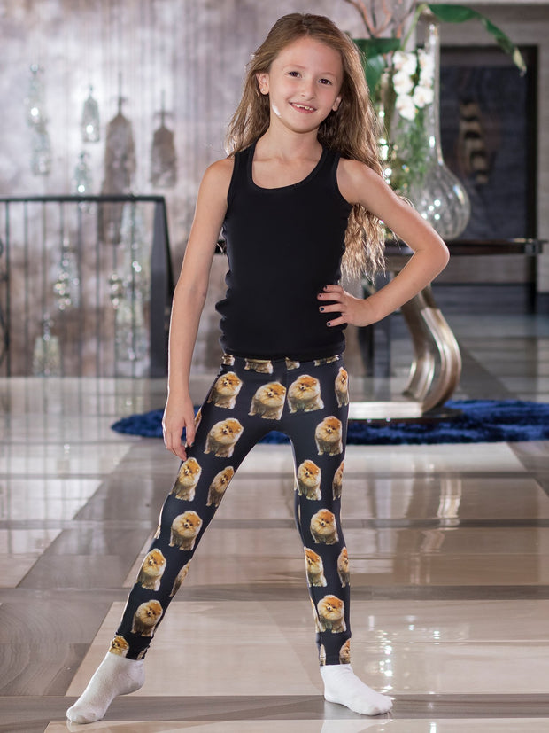Kids Pomeranian Leggings