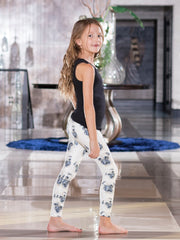 Kids Big Eyed Pug Leggings