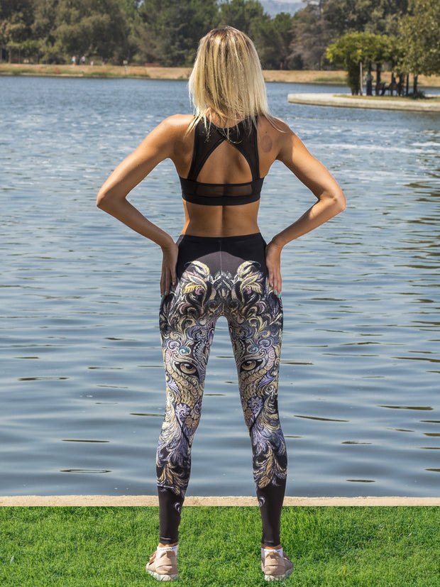Mysterious Eyes Leggings