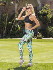 Bamboo Buffet Leggings