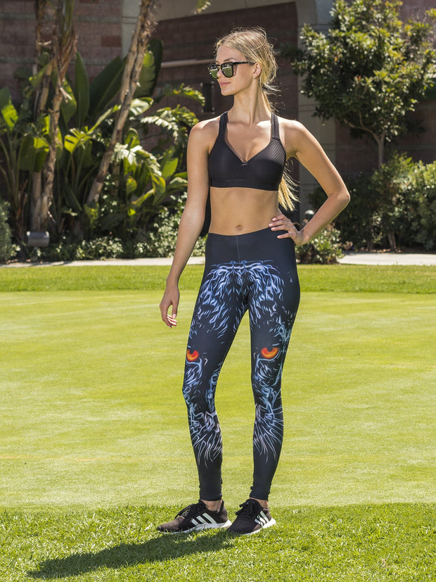 Smokey Panther Leggings