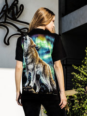 Howling Lights Beaded Glow Shirt